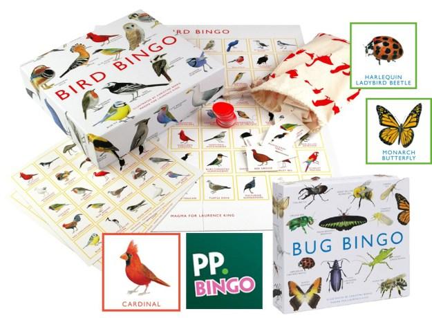 Bird and Bug Bingo
