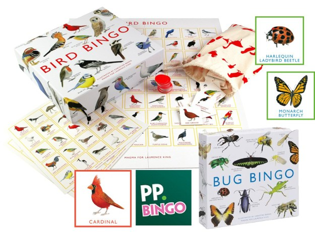 Bird and Bug Bingo